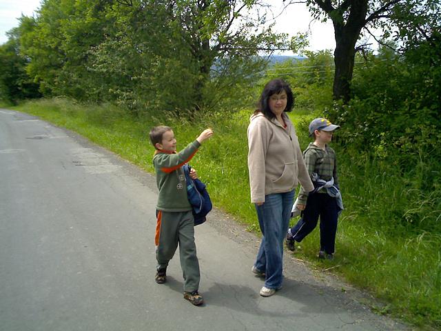 Cestou na Trosky